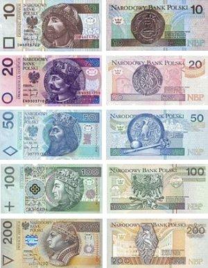 Купить польские злотые в спб альбом для банкнот тенгри
